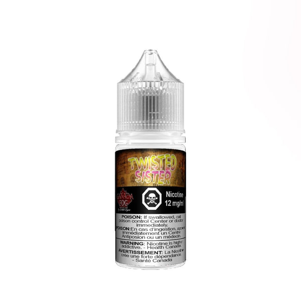 Twisted Sister Salt Nic 30ml - Record Vapes Premium E-juice Online / Free Shipping Over $55