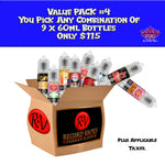 Value Pack #3: 9x60ml - Record Vapes Premium E-juice Online / Free Shipping Over $55