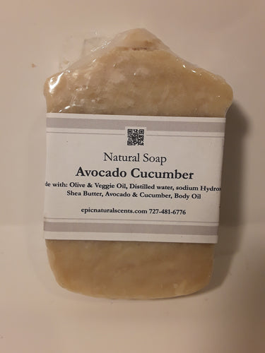 Avocado and Cucumber soap