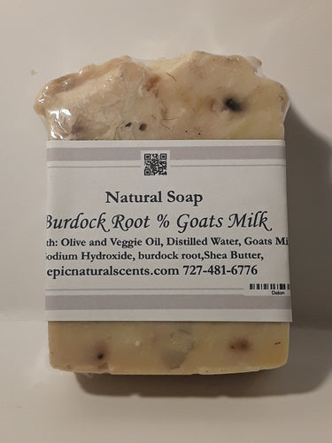 Burdock Root & Goats Milk Soap