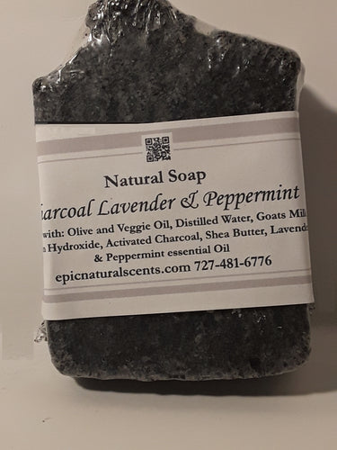 Charcoal Lavender Peppermint