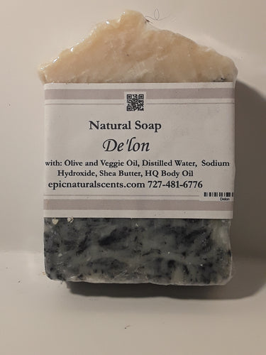 Soap inspired by Delon