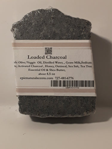 Charcoal /Goats Milk /Oatmeal/Sea Salt and Tea Tree