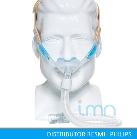 Nuance Nasal Pillow Mask with Gel Frame – www CPAPINDO co id