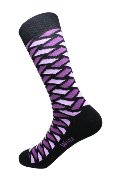 Blackberry Socks - Cameron Michael Ties