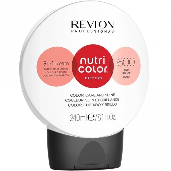 600 Fire Red Nutri Colour Creme
