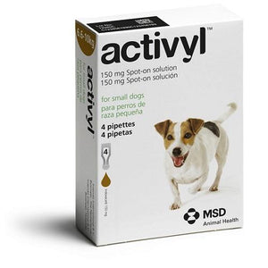 Activyl Spot-on 150mg For Small Dogs 15-22 lbs (6.6-10 kg) | .Com