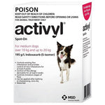 Activyl Spot-on 300mg For Medium Dogs 23-44 lbs (10-20 kg) | .Com
