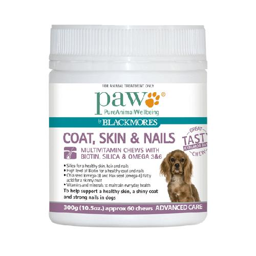 Blackmores PAW Coat, Skin & Nails Multivitamin Chews for Dogs