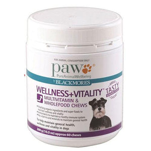 Blackmores Paw Wellness And Vitality Dog Chews 300G | Singpet.COM