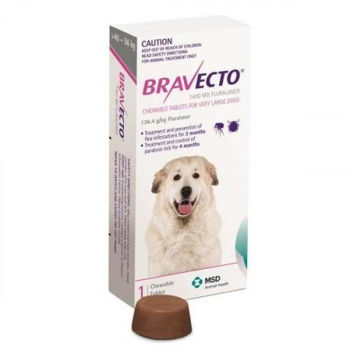 Bravecto Chewable for Large Dogs 88-123lbs (40-56kg) |
