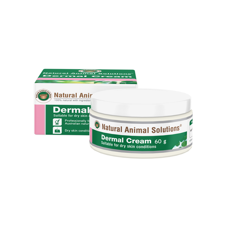 Natural Animal Solutions Dermal Cream For Dry Skin Conditions