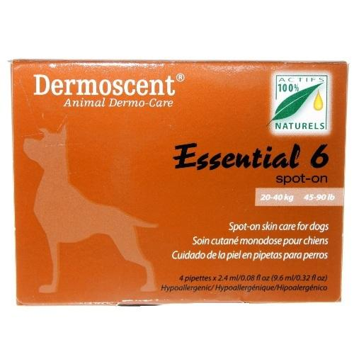 Dermoscent Essential 6 Spot-on For Large Dogs 20-40 kg (45-90 lbs) | Singpet.Com