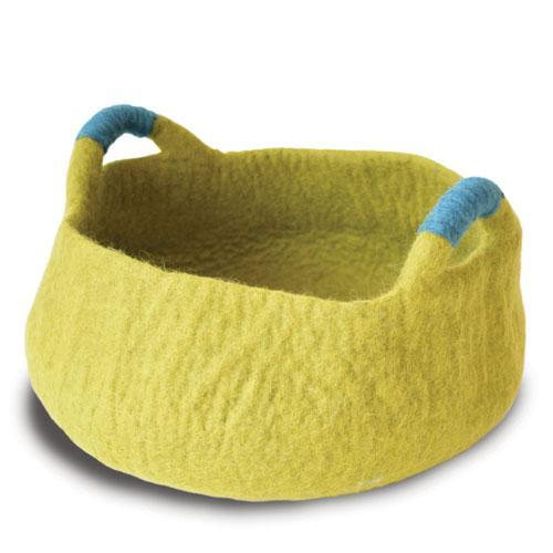 Dharma Dog Karma Cat Handle Basket Green For Cats & Small Dogs | .Com