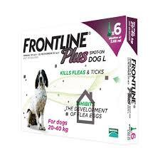 Frontline Plus Flea & Tick Prevention Spot-on For Large Dogs 20-40 kg (45-88 lbs) |