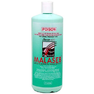 Dermcare Malaseb Medicated Shampoo For Dogs & Cats, 1 Litre | PoumbaPetShop.COM