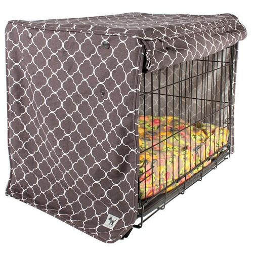Molly Mutt Clark Gable Crate Cover | Singpet.Com