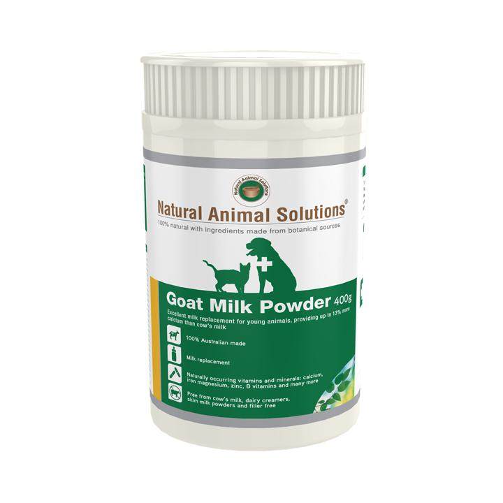 Natural Animal Solutions Goat Milk Replacement Powder | Singpet.Com
