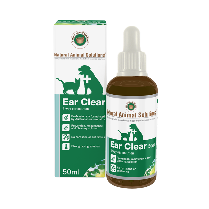 Natural Animal Solutions Ear Clear Drops Dogs & Cats | Singpet.COM