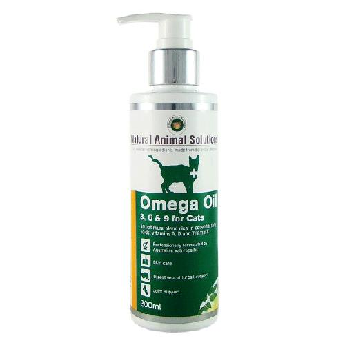 Natural Animal Solutions Omega Oil 3,6 & 9 For Cats | Singpet.COM
