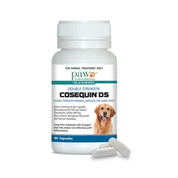 Blackmores Paw Cosequin DS Joint Health Supplement Capsules for Large Dogs