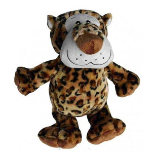 Petlou Medium Plush 8 Inch Dog Toy, Leopard | .Com