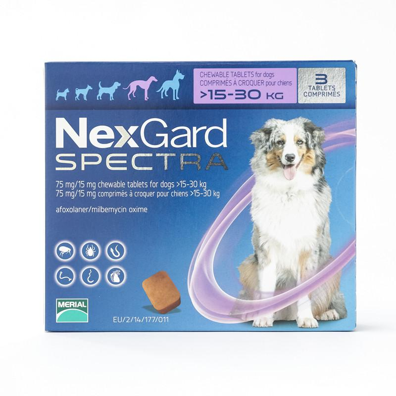 NexGard Spectra Large Dogs 33-66 lbs (15-30 kg) | UnitedPetWorld