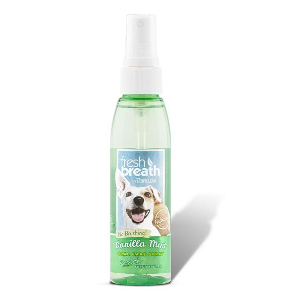 Tropiclean Vanilla Mint Oral Care Spray For Dogs | Singpet.Com