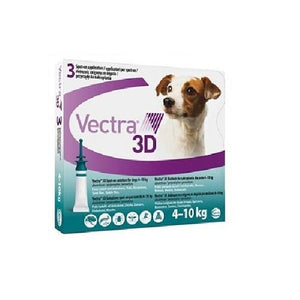 Vectra 3D Spot-on For Dogs 11-20 lbs (4-10 kg) | .Com