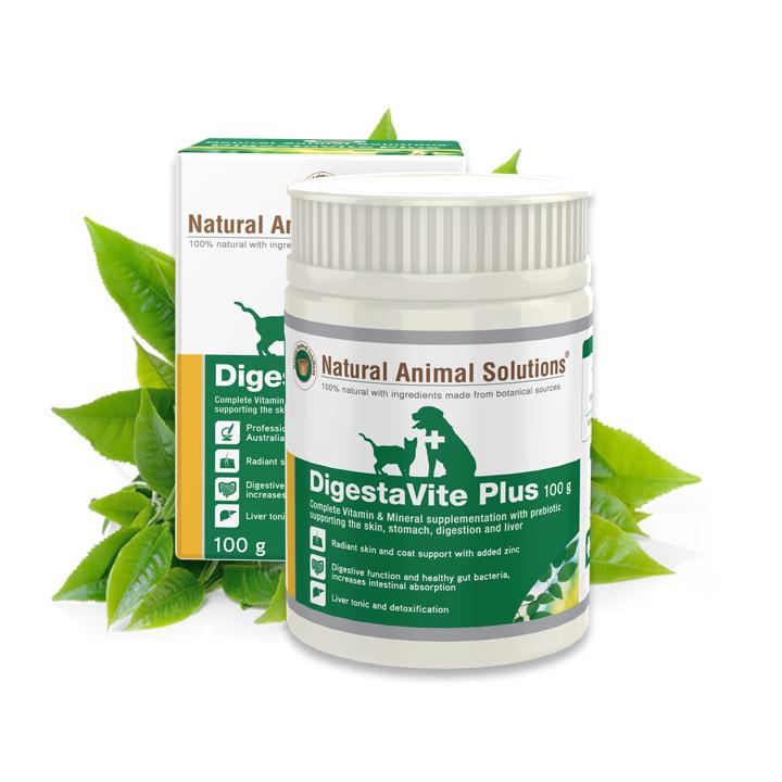 Natural Animal Solutions DigestaVite Plus Supplement For Dogs & Cats