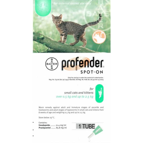 Profender Spot on Small Cat and Kittens