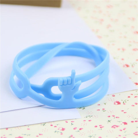 Cute Silicone Finger Pointer Bookmark