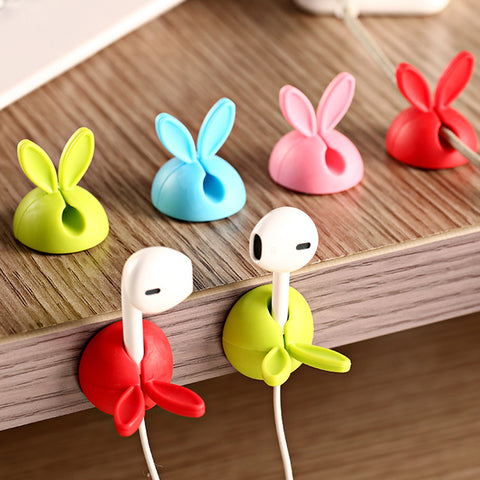 4 x Rabbit Desk Clips