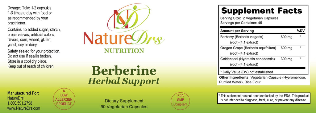 Berberine Herbal Support