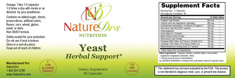 Yeast Herbal Support