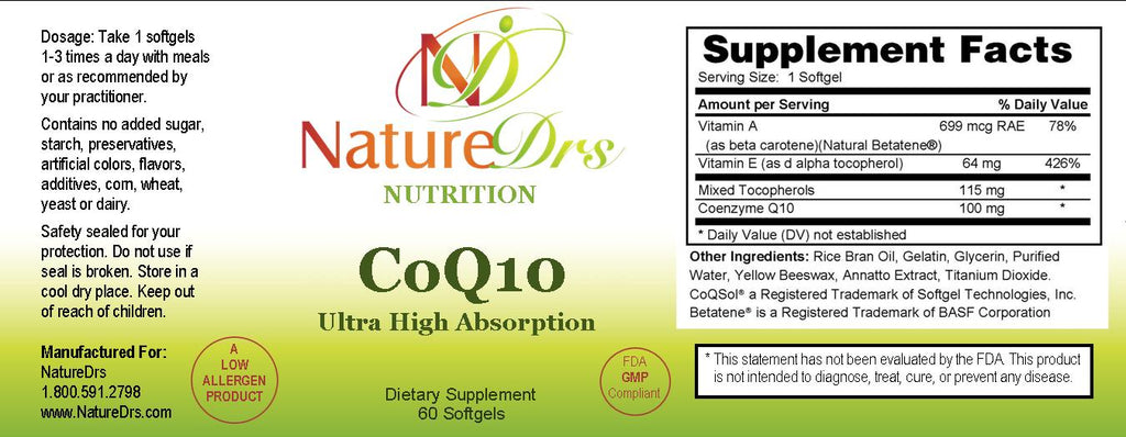 CoQ10 (Ultra High Absorption)