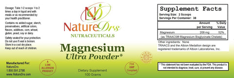 Magnesium Ultra Powder