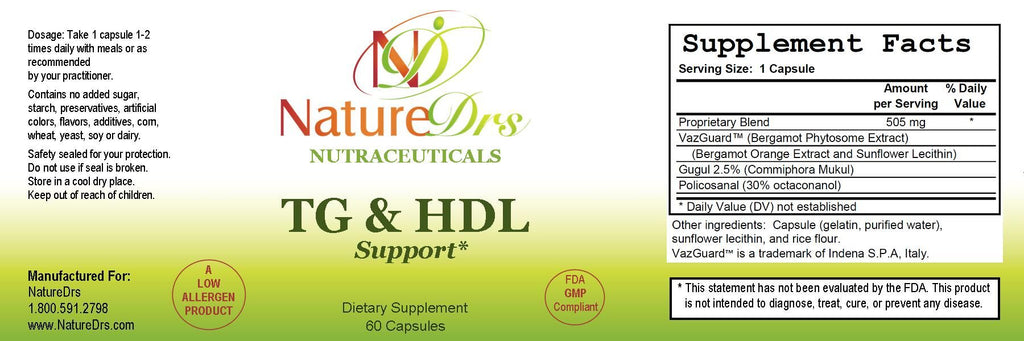 TG and HDL Support