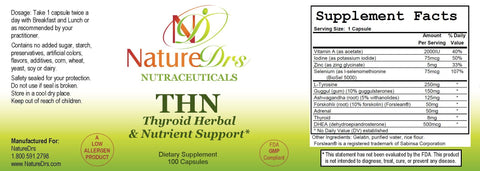THN Thyroid Herbal & Nutrient Support