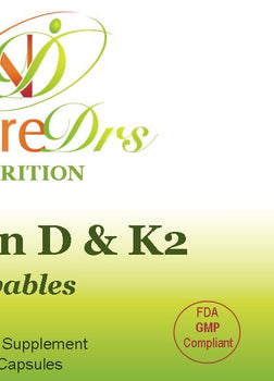Vitamin D & K2 (Chewable)