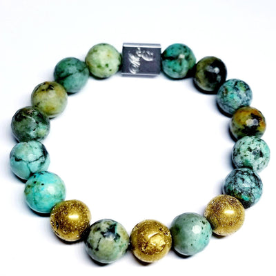 ME™ African Turquoise 8-inch Bracelet Unisex Bracelets Show Your Africa