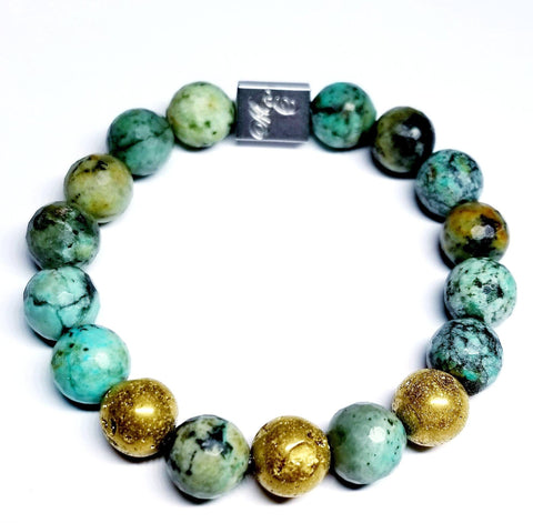 ME™ African Torquoise 8-inch Bracelet