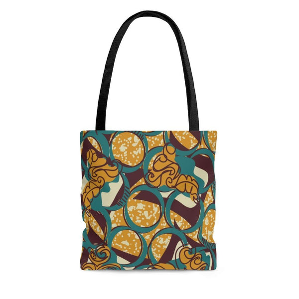 EKO & CO.™ Ankara Print Tote Bag Bags Printify Large