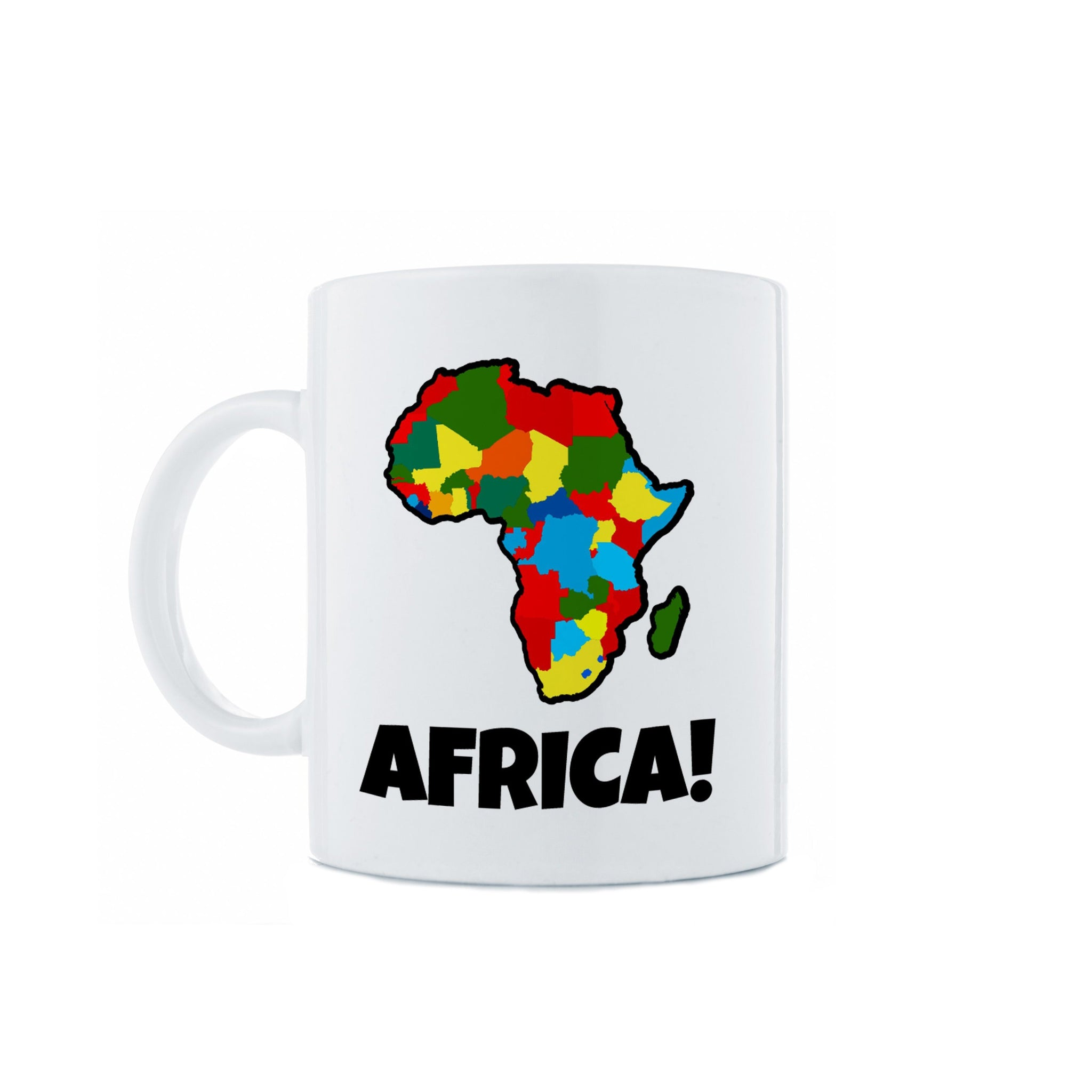 Africa Many Colors Mug