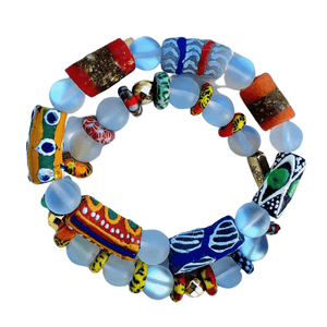 ME™ Clarity Ghanaian 2pc 7-inch Bracelet Set