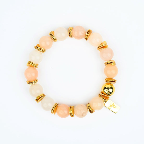 ME™ Owambe 7-inch Orange Agate Bracelet Show Your Africa