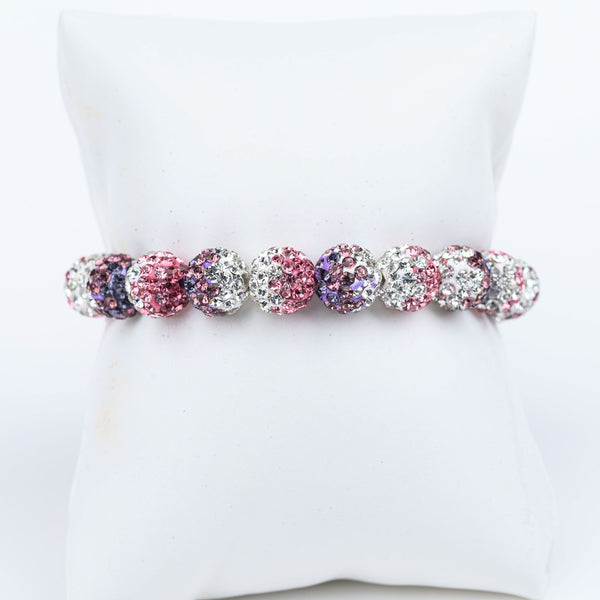 ME™ Glam 7-inch Bracelet - Purple Pink Show Your Africa