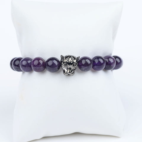 ME™ Panther Amethyst 7-inch Bracelet Women's Bracelets Show Your Africa
