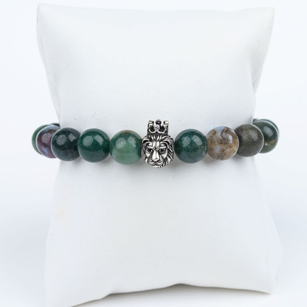 ME™ Crown Fancy Jasper 8-inch Bracelet Unisex Bracelets Show Your Africa