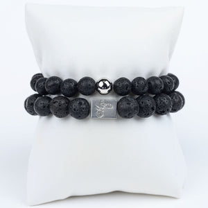 ME™ Basics His & Hers Lava 2-pc Bracelet Set Unisex Bracelets Show Your Africa
